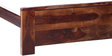 Clancy King Size Bed in Provincial Teak Finish by Woodsworth