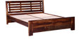 Lynnwood Queen Bed in Provincial Teak Finish by Woodsworth