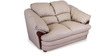 Salina Two Seater Sofa in Pebble Beige Colour by Durian