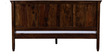 Morton King Size Bed in Provincial Teak Finish by Woodsworth