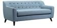 San Bruno Three Seater Sofa in Ice Blue Colour by CasaCraft