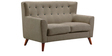 San Pablo Two Seater Sofa in Ecru Colour by CasaCraft