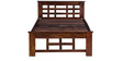 Raliegh Single Bed in Provincial Teak Finish by Woodsworth