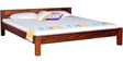 Savannah King Size Bed in Honey Oak Finish by Woodsworth
