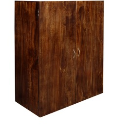 San Luis Wardrobe in Provincial Teak Fnish by Woodsworth