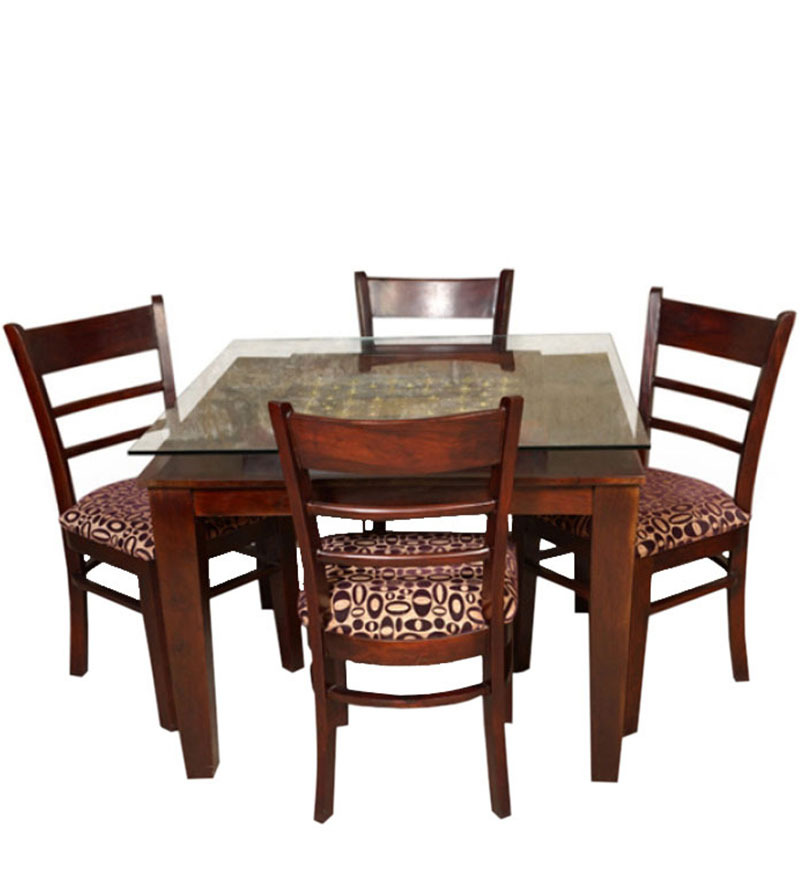 San Pedro Sula Dining Table Set In Colonial Maple Finish By Woodsworth By Woo