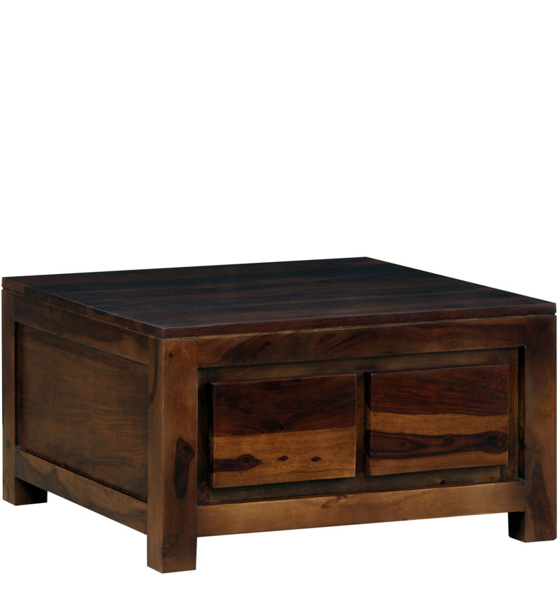 Salvador Storage Solid Wood Coffee Table In Provincial
