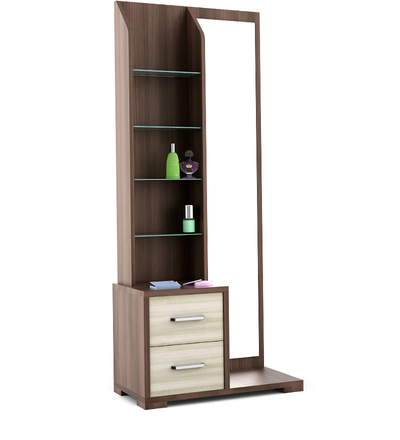 Savana Dressing Table In Moldau Akazia And Brown Finish By