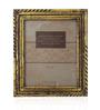 Saaga Golden Wooden 10 x 12 Inch Photo Frame