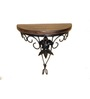Saaga Brown & Black Wooden Fantasy Wall Bracket