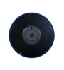 Safal Quartz Round Blue Clock MDF Wall Clock