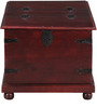 Chilton Trunk Box in Passion Mahogany Finish by Amberville