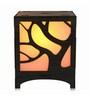 Saibhir Brown Wood Tree Table Lamp