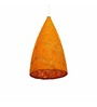 Salebrations Hanging Cone Lamp Shades Yarn with Banana Fiber & Holes