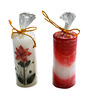 Salebrations Multicolor Round Candle - Set of 20