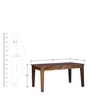 Salem Six Seater Dining Set in Provincial Teak Finish by Woodsworth