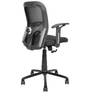 Sally Ergonomic Chair in Black Colour by Star India