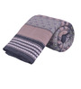 Salona Bichona Gray Cotton Abstract 98 x 86 Inch Double Quilt