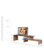 Lacanoia Entertainment Unit in Natural Finish by Woodsworth
