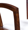 Dvina Arm Chair in Provincial Teak Finish by Woodsworth