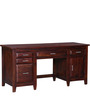 Woodinville Study & Laptop Table in Honey Oak Finish by Woodsworth