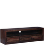 Oakland Three Drawer TV Entertainment Unit with Shelf by Woodsworth