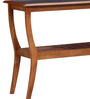 Benton Console Table in Honey Oak Finish by Woodsworth