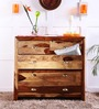 Polson Chest of Drawers in Natural Sheesham Finish by Woodsworth
