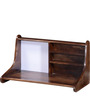 Tacoma Wall Mounted Study & Laptop Table in Provincial Teak Finish by Woodsworth