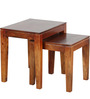 Madison Solid Wood Set Of Tables in Honey Oak finish by Woodsworth