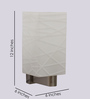 San Marino Wall Light in White by CasaCraft