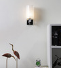 San Nicholas Wall Light in White by CasaCraft