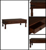 Giric Four Drawer Coffee Table in Provincial Teak Finish by Amberville
