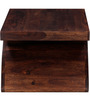 Omaha Coffee Table in Provincial Teak Finish by Woodsworth