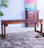 Woodinville Bench in Honey Oak Finish by Woodsworth