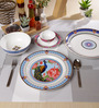 Sanjeev Kapoor Mayura Collection Bone China Dinner Set - Set of 27
