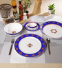 Sanjeev Kapoor Noor Collection Bone China Dinner Set - Set of 27
