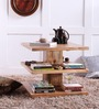 Lacanoia Coffee Table in Natural Mango Wood Finish by Woodsworth