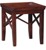 Fife Set Of Tables in Medium Brown Finish by Woodsworth