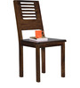 Oregon Solid Wood Dining Chair in Provincial Teak Finish by Woodsworth