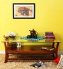 Toston Coffee & Centre Table in Honey Oak Finish by Woodsworth