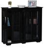Polson Crockery Cabinet in Espresso Walnut Finish by Woodsworth