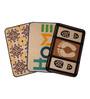 Saral Home Multicolour Jute 24 x 20 Inch Anti Slip Jute Door Mat - Set of 3
