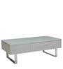 Sassy Multifunctional Coffee Table with Storage in Grey Colour by Gravity