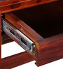 Glendale Solid Wood Study & Laptop Table in Honey Oak Finish by Woodsworth