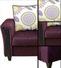 Savanna Fabric One Seater Sofa in Wine Colour by HomeTown