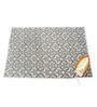 Savera Floral Cotton & Polyester Felt Black Ironing Mat