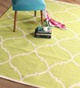Curzon Area Rug 63 x 91 Inch in Lime Green by Casacraft