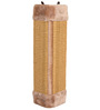 ABK Imports Scratching Board for Corners, Brown, 23 x 49 cm