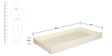 Seaside Dreams Theme Single-Size Bed with Trundle in Ivory Finish by Pink Guppy